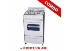 COMBO COCINA ESCORIAL CANDOR + PURIFICADOR BLANCO AXEL