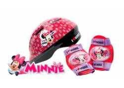 SET DE CASCO CON PROTECTOR UNIBIKE MINNIE
