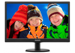 "MONITOR LED PHILIPS 18.5"" 193V5LSB2/77 - HD - VGA - 16:9"