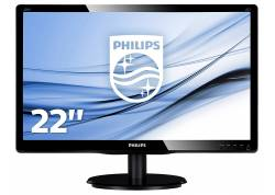 "MONITOR LED PHILIPS 22"" 223V5LSB2/77 - FHD - VGA - 16:9"