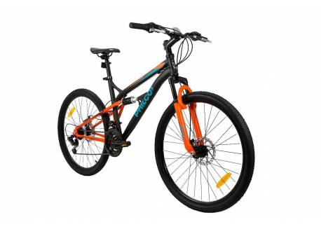 BICICLETA PHILCO MTB DOBLE SUSPENSION RODADO 26 GMDS26MD210M