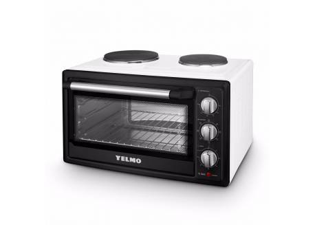 HORNO ELECTRICO YELMO YL-52AC 52L DOBLE ANAFE