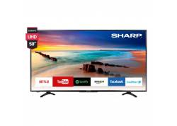 "LED TV SHARP 50"" SMART 4K"