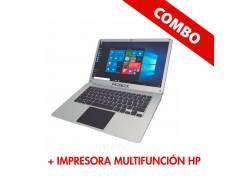COMBO NOTEBOOK PC BOX + IMPRESORA MULTIFUNCIÓN HP