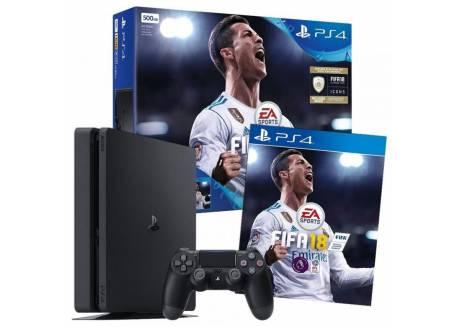 SONY PLAYSTATION 4 + FIFA 2018 1TB