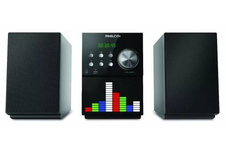 MICROCOMPONENTE PHILCO AMP75DV REP. DVD Y BLUETOOTH