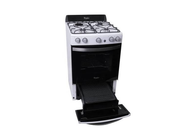 Cocina whirlpool wfb56db 55 cm blanca suma hogar for Encendido electronico cocina whirlpool