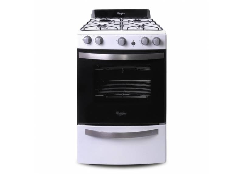 cocina whirlpool wfb56db 55 cm blanca suma hogar