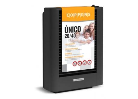 CONVECTOR 20/40 COPPENS TB UNICO QUEMADOR ACERO MULTIGAS C40BUAM