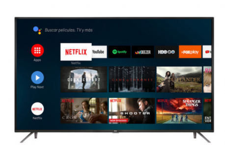 """LED 50"""" RCA SMART 4K X50ANDTV ANDROID"""
